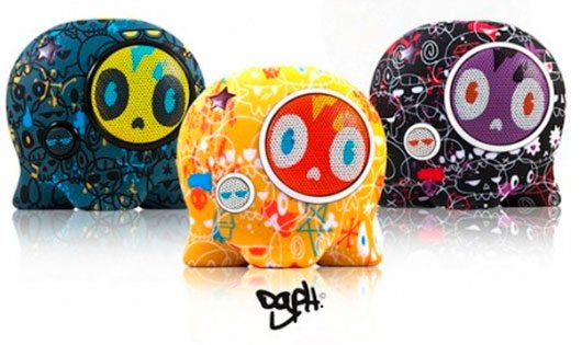 Boombotix portable speakers