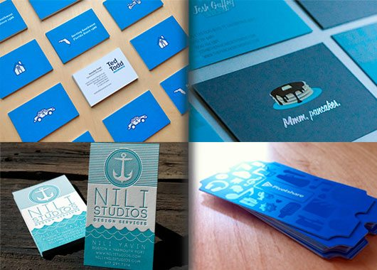 preview Blue Business Cards Designs