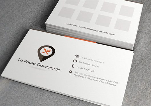 Business card template .PSD by Kevin Cdnc