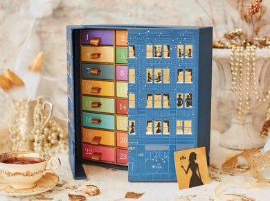 Christmas Tea Advent Calendar - a fantastic example of Christmas packaging