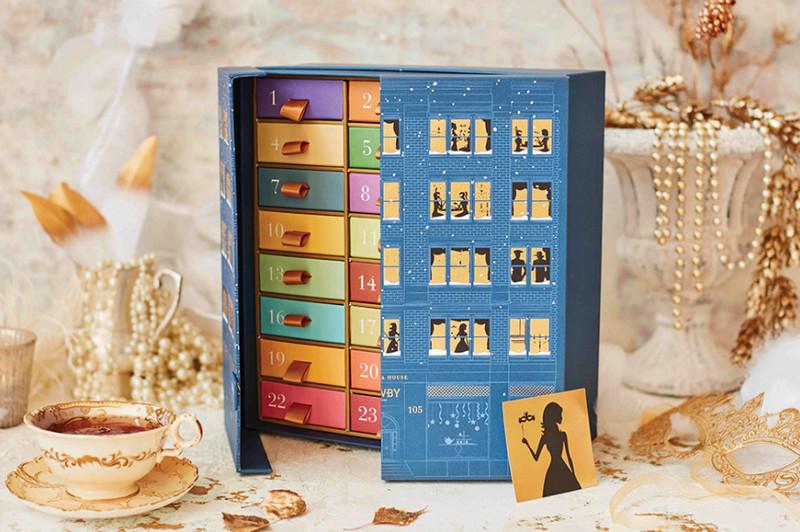 Christmas Tea Advent Calendar - a fantastic example of Christmas packaging